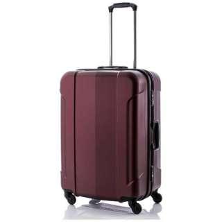 スーツケース 73L GRAN GEAR ワインレッド 6296953 [TSAロック搭載]