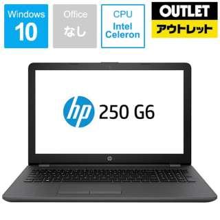 【アウトレット品】 15.6型ノートPC[Win10 Home・Celeron・HDD 500GB・メモリ4GB]  HP 250 G6  4PA35PA-AABF 【数量限定品】