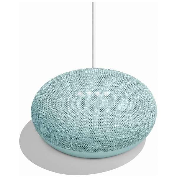 GA00275JP スマートスピーカー(AIスピーカー) Google Home Mini アクア [Bluetooth対応 /Wi-Fi対応]