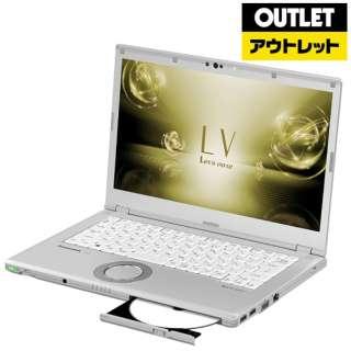 【アウトレット品】 14.0型ノートパソコン[Win10 Pro・Core i7・SSD 512GB・メモリ 8GB・Office Home & Business] Let's note(レッツノート)LVシリーズ シルバー CF-LV73DVQR 【外装不良品】