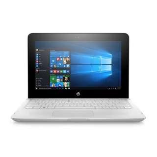 4SA14PA-AAAA ノートパソコン HP x360 11-ab120TU G1モデル スノーホワイト [11.6型 /intel Celeron /SSD:128GB /メモリ:4GB /2018年10月モデル]