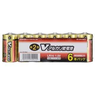 LR14/S6P/V 単2電池 Vシリーズ [6本 /アルカリ]