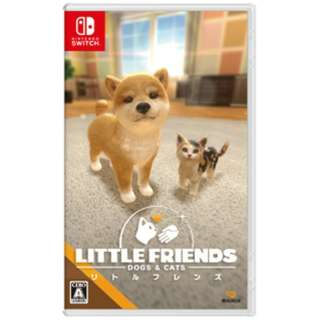 LITTLE FRIENDS - DOGS & CATS - 【Switch】