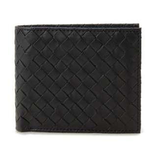 モンテスピガ monte SPIGA 二つ折り財布 MOSQS371BK ブラック メンズ 財布