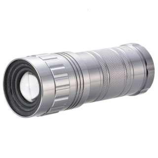 LHA-SP332Z-S 懐中電灯 ズームライト SPARKLED [LED /単3乾電池×3 /防水]