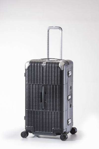 スーツケース ハードキャリー 101L departure(ディパーチャー) レザーマットブラック HD-515-29 [TSAロック搭載]