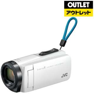 【アウトレット品】 ビデオカメラ Everio R [防水・防塵・耐衝撃 /メモリ 32GB /フルハイビジョン] GZ-R470-W シャインホワイト 【生産完了品】