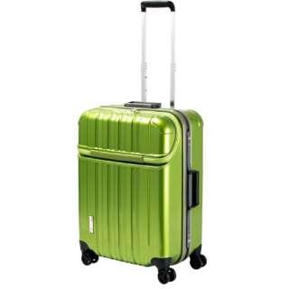 スーツケース 63L TRAVERIST(トラベリスト)TRUSTOP(トラストップ) leaf green 76-20417 [TSAロック搭載]