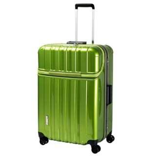 スーツケース 100L TRAVERIST(トラベリスト)TRUSTOP(トラストップ) leaf green 76-20437 [TSAロック搭載]
