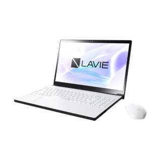 PC-NX850LAW ノートパソコン LAVIE Note NEXT プラチナホワイト [15.6型 /intel Core i7 /HDD:1TB /SSD:128GB /メモリ:8GB /2018年10月モデル]