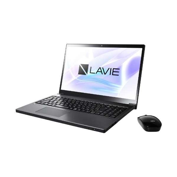 PC-NX850LAB ノートパソコン LAVIE Note NEXT グレイスブラックシルバー [15.6型 /intel Core i7 /HDD:1TB /SSD:128GB /メモリ:8GB /2018年10月モデル]