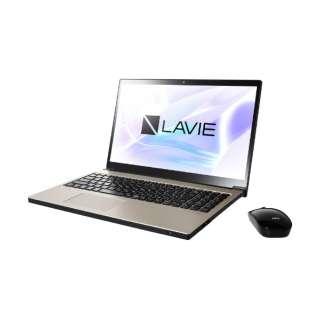 PC-NX850LAG ノートパソコン LAVIE Note NEXT クレストゴールド [15.6型 /intel Core i7 /HDD:1TB /SSD:128GB /メモリ:8GB /2018年10月モデル]