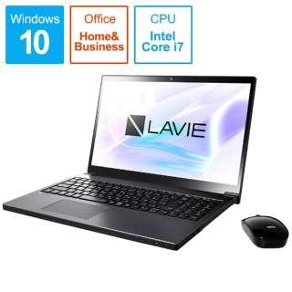 LAVIE Note NEXT ノートパソコン グレイスブラックシルバー PC-NX750LAB [15.6型 /intel Core i7 /HDD:1TB /Optane:16GB /メモリ:8GB /2018年10月モデル]