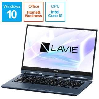 LAVIE Hybrid ZERO ノートパソコン インディゴブルー PC-HZ500LAL [13.3型 /intel Core i5 /SSD:128GB /メモリ:4GB /2018年10月モデル]