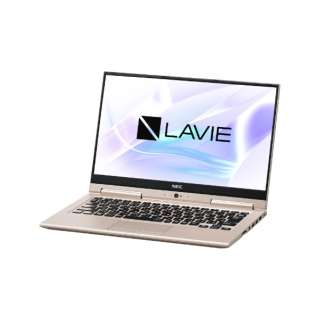 PC-HZ500LAG ノートパソコン LAVIE Hybrid ZERO フレアゴールド [13.3型 /intel Core i5 /SSD:128GB /メモリ:4GB /2018年10月モデル]