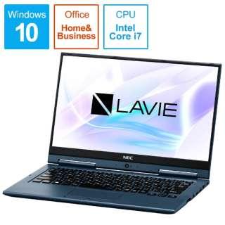 LAVIE Hybrid ZERO ノートパソコン インディゴブルー PC-HZ750LAL-2 [13.3型 /intel Core i7 /SSD:256GB /メモリ:8GB /2018年10月モデル]