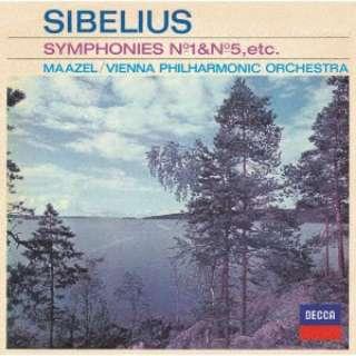 ウィーン・フィルハーモニー管弦楽団/ シベリウス:交響曲第1番・第5番、≪カレリア≫組曲 【CD】
