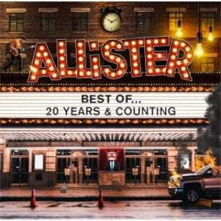 アリスター/ ALLiSTER 20th ANNIVERSARY BEST ALBUM 「BEST OF… 20 YEARS & COUNTING」 【CD】