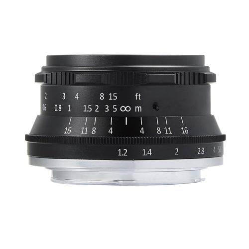 7artisans 35mm F1.2 3512M43B [マイクロフォーサーズ用]