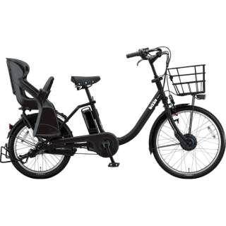 24/20型 電動アシスト自転車 bikke MOB dd(クロツヤケシ/内装3段変速)BMCB49 【2019年/ビックカメラオリジナルモデル】 【組立商品につき返品不可】