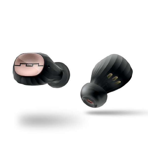 フルワイヤレスイヤホン ローズゴールド SOL-AMPS-AIR2RS [マイク対応 /ワイヤレス(左右分離) /防水 /Bluetooth]
