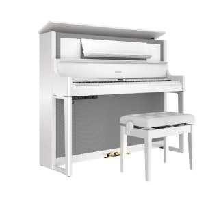 電子ピアノ LX708-PWS 白鏡面 [88鍵盤]