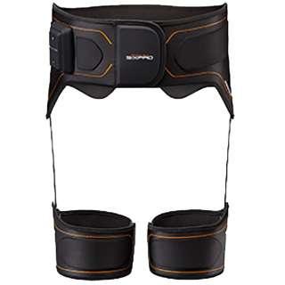 トレーニングギア SIXPAD(シックスパッド) Bottom Belt(Sサイズ/ブラック)SP-BB2304F-S