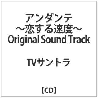 TVサントラ:「アンダンテ-恋する速度-」Original Sound Track 【CD】