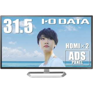液晶ディスプレイ ブラック LCD-DF321XDB [31.5型 /ワイド /フルHD(1920×1080)]