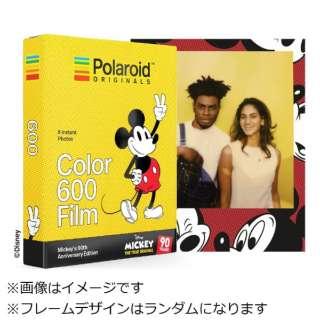 【数量限定】Polaroid Originals インスタントフィルム Color Film For 600 Mickey's 90th Edition