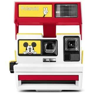 【数量限定】Polaroid Originals Limited Edition Mickey Cam Vintage 600 Camera