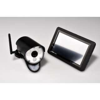 センサーライト付ワイヤレスセキュリティカメラ・モニターセット 「GUARDIAN ガーディアン」 UCL9001