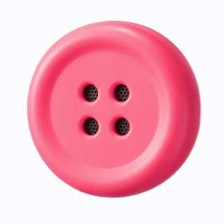 Pechat(ペチャット)/ピンク/ぬいぐるみをおしゃべりにするボタン型スピーカー