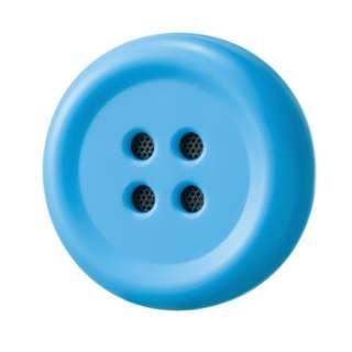 Pechat(ペチャット)/ブルー/ぬいぐるみをおしゃべりにするボタン型スピーカー