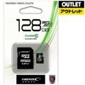【アウトレット品】 microSDXCカード HIDISC HDMCSDX128GCL10UIJP3 [128GB /Class10] 【数量限定品】