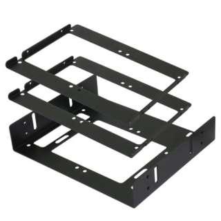 OWL-BRKT19 HDDケース ブラック [6台 /3.5インチ&2.5インチ対応]