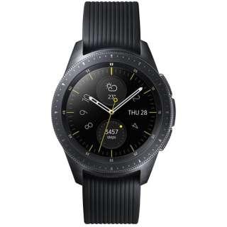 SM-R810NZKAXJP スマートウォッチ Galaxy Watch 42mm ミッドナイトブラック
