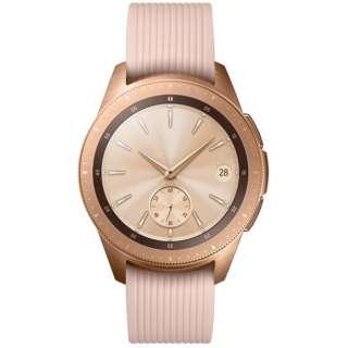 SM-R810NZDAXJP スマートウォッチ Galaxy Watch 42mm ローズゴールド