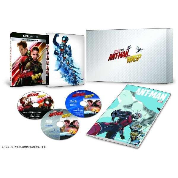 アントマン&ワスプ 4K UHD MovieNEX プレミアムBOX 【Ultra HD ブルーレイソフト】