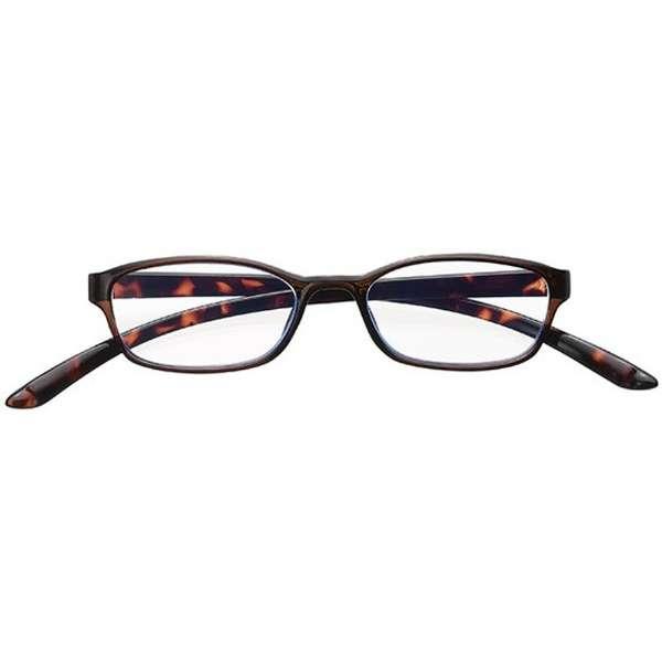 老眼鏡 カカル 4830(ブラウン/+1.00)