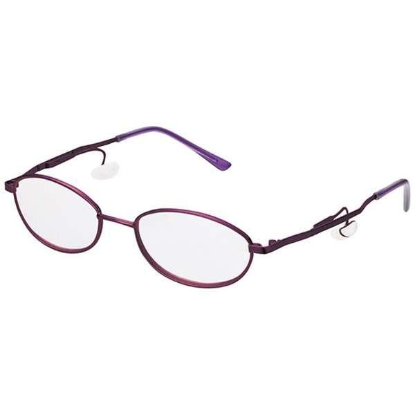 老眼鏡 アトガーネ 5700(パープルメタル/+1.00)