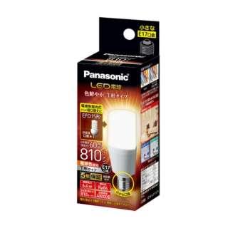 LDT6L-G-E17/S/T6 LED電球 ホワイト [E17 /電球色 /1個 /60W相当 /T形]
