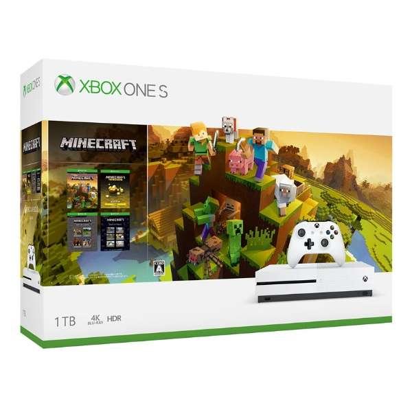 Xbox One S 1TB(Minecraft マスター コレクション同梱版) 234-00670 [ゲーム機本体]