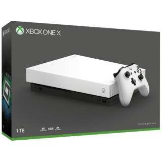 Xbox One X ホワイト スペシャル エディション [ゲーム機本体]