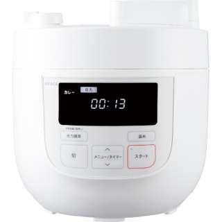 SP-4D131 siroca 電気圧力鍋 SP-4D131 ホワイト [圧力/無水/蒸し/炊飯/温め直し/大容量] siroca ホワイト