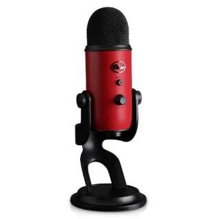 USBマイク 【Blue Microphones】Yeti - Satin Red 168