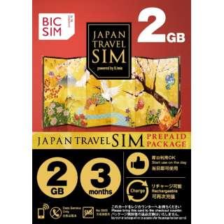 マルチSIM 「BIC SIMジャパントラベルパッケージ 」 IMB252 [マルチSIM]