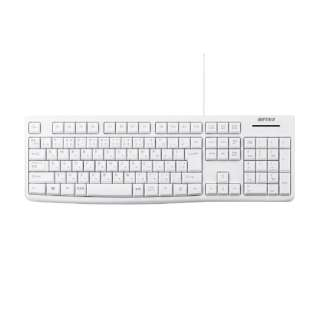 BSKBU100WH キーボード ホワイト [USB /有線]