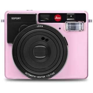 【数量限定】インスタントカメラ 『ライカ ゾフォート』 ピンク 19110