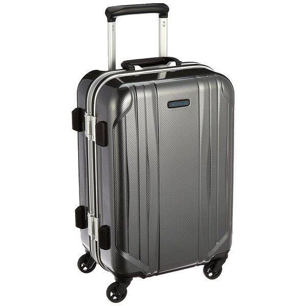 スーツケース 31L ワールドトラベラー(World Traveler) サグレス(SAGRES) ブラックカーボン 06061-02 [TSAロック搭載]